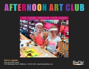 Afternoon Art Club